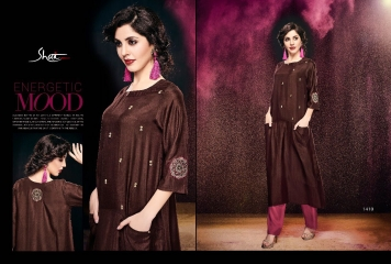 SHAI PARIDHAN CATALOG COTTON MODAL SILK EMBROIDERED PARTY WEAR DESIGNER COLLECTION (10)