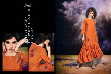 SHAI PARIDHAN CATALOG COTTON MODAL SILK EMBROIDERED PARTY WEAR DESIGNER COLLECTION (2)
