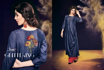 SHAI PARIDHAN CATALOG COTTON MODAL SILK EMBROIDERED PARTY WEAR DESIGNER COLLECTION (3)