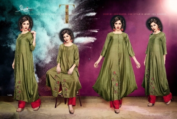 SHAI PARIDHAN CATALOG COTTON MODAL SILK EMBROIDERED PARTY WEAR DESIGNER COLLECTION (4)