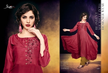 SHAI PARIDHAN CATALOG COTTON MODAL SILK EMBROIDERED PARTY WEAR DESIGNER COLLECTION (5)