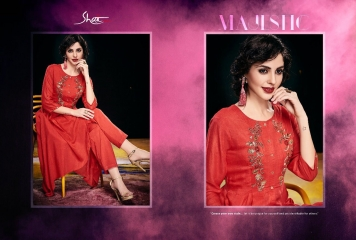SHAI PARIDHAN CATALOG COTTON MODAL SILK EMBROIDERED PARTY WEAR DESIGNER COLLECTION (6)