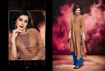 SHAI PARIDHAN CATALOG COTTON MODAL SILK EMBROIDERED PARTY WEAR DESIGNER COLLECTION (7)