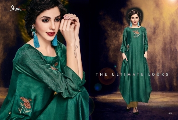SHAI PARIDHAN CATALOG COTTON MODAL SILK EMBROIDERED PARTY WEAR DESIGNER COLLECTION (8)