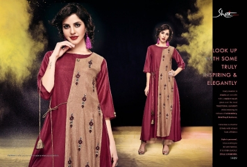 SHAI PARIDHAN CATALOG COTTON MODAL SILK EMBROIDERED PARTY WEAR DESIGNER COLLECTION (9)