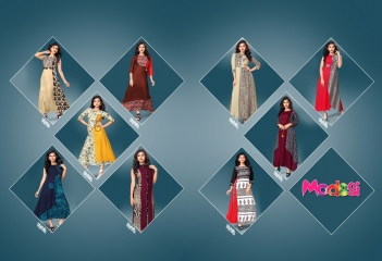 SHANAYA VOL-3 KURTIS BY MODESI DESIGNER WITH WORK KURTIS ARE AVAILABLE AT WHOLESALE BESST RATE BY GOSIYA EXPORTS (12)