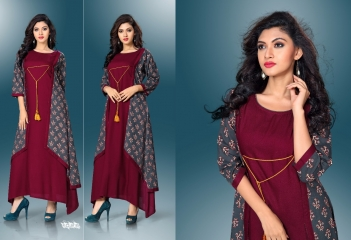 SHANAYA VOL-3 KURTIS BY MODESI DESIGNER WITH WORK KURTIS ARE AVAILABLE AT WHOLESALE BESST RATE BY GOSIYA EXPORTS (17)