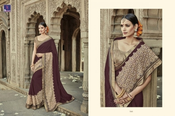 SHANGRILA AAKRUTI VOL 3 DESIGNER SAREES BEST RATE AT GOSIYA EXPORTS (1)