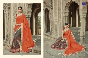 SHANGRILA AAKRUTI VOL 3 DESIGNER SAREES BEST RATE AT GOSIYA EXPORTS (10)
