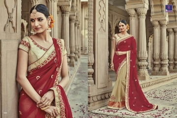 SHANGRILA AAKRUTI VOL 3 DESIGNER SAREES BEST RATE AT GOSIYA EXPORTS (12)