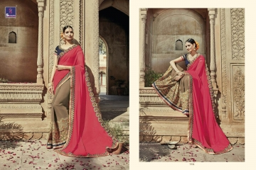 SHANGRILA AAKRUTI VOL 3 DESIGNER SAREES BEST RATE AT GOSIYA EXPORTS (2)
