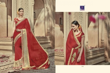 SHANGRILA AAKRUTI VOL 3 DESIGNER SAREES BEST RATE AT GOSIYA EXPORTS (3)