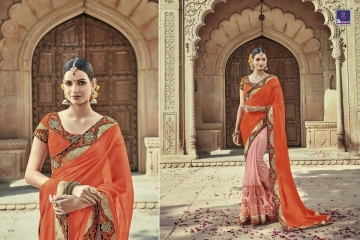 SHANGRILA AAKRUTI VOL 3 DESIGNER SAREES BEST RATE AT GOSIYA EXPORTS (4)