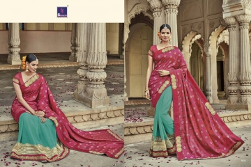 SHANGRILA AAKRUTI VOL 3 DESIGNER SAREES BEST RATE AT GOSIYA EXPORTS (5)