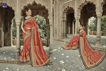 SHANGRILA AAKRUTI VOL 3 DESIGNER SAREES BEST RATE AT GOSIYA EXPORTS (8)