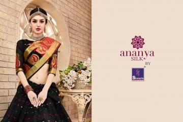 Shangrila Ananya silk saree catalog BEST RATE IN SURAT (10)