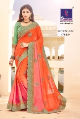 SHANGRILA BY GREEN LEAF CATALOGUE DESIGNER SAREES COLELCTION WHOLESALE BEST ARET BY GOSIYA EXPORTS SURAT (10)