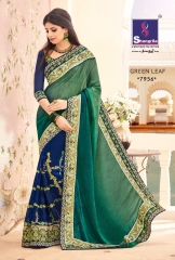 SHANGRILA BY GREEN LEAF CATALOGUE DESIGNER SAREES COLELCTION WHOLESALE BEST ARET BY GOSIYA EXPORTS SURAT (2)