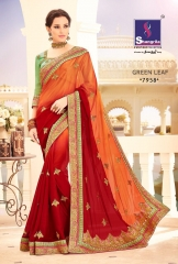 SHANGRILA BY GREEN LEAF CATALOGUE DESIGNER SAREES COLELCTION WHOLESALE BEST ARET BY GOSIYA EXPORTS SURAT (3)