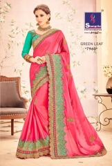 SHANGRILA BY GREEN LEAF CATALOGUE DESIGNER SAREES COLELCTION WHOLESALE BEST ARET BY GOSIYA EXPORTS SURAT (5)