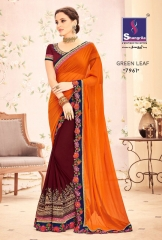 SHANGRILA BY GREEN LEAF CATALOGUE DESIGNER SAREES COLELCTION WHOLESALE BEST ARET BY GOSIYA EXPORTS SURAT (6)