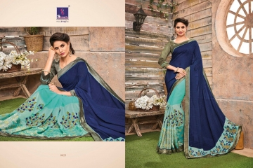 SHANGRILA BY KALAKRUTI EXCLUSIVE ELEGANT FABRICS SAREES WHOLESALE BEST RATE BY GOSIYA EXPORTS SURAT (11)