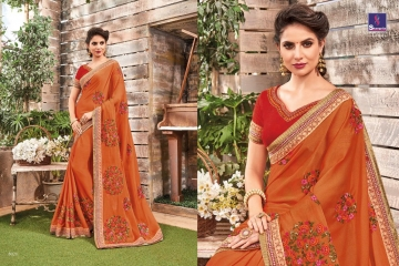 SHANGRILA BY KALAKRUTI EXCLUSIVE ELEGANT FABRICS SAREES WHOLESALE BEST RATE BY GOSIYA EXPORTS SURAT (12)