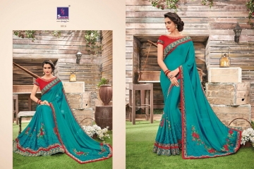 SHANGRILA BY KALAKRUTI EXCLUSIVE ELEGANT FABRICS SAREES WHOLESALE BEST RATE BY GOSIYA EXPORTS SURAT (4)