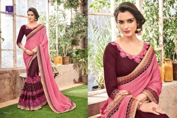 SHANGRILA BY KALAKRUTI EXCLUSIVE ELEGANT FABRICS SAREES WHOLESALE BEST RATE BY GOSIYA EXPORTS SURAT (9)