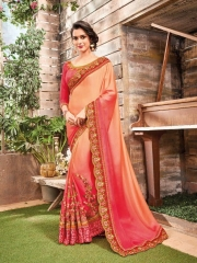SHANGRILA BY KALAKRUTI EXCLUSIVE ELEGANT FABRICS SAREES WHOLESALE BEST RATE BY GOSIYA EXPORTS SURAT