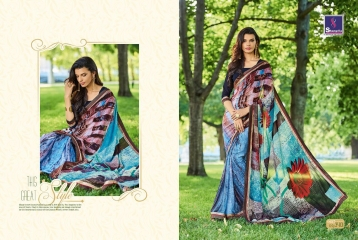 SHANGRILA BY MERCURY CATALOGUE FANCY PRINTS CASUAL WEAR SAREES (1)