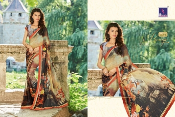 SHANGRILA BY MERCURY CATALOGUE FANCY PRINTS CASUAL WEAR SAREES (10)