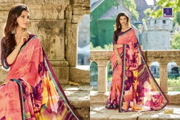 SHANGRILA BY MERCURY CATALOGUE FANCY PRINTS CASUAL WEAR SAREES (12)