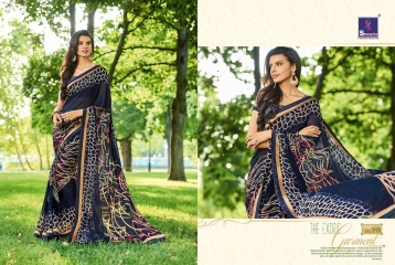 SHANGRILA BY MERCURY CATALOGUE FANCY PRINTS CASUAL WEAR SAREES (15)