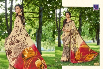 SHANGRILA BY MERCURY CATALOGUE FANCY PRINTS CASUAL WEAR SAREES (2)