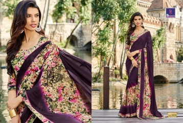 SHANGRILA BY MERCURY CATALOGUE FANCY PRINTS CASUAL WEAR SAREES (4)