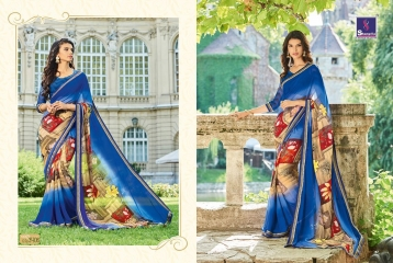 SHANGRILA BY MERCURY CATALOGUE FANCY PRINTS CASUAL WEAR SAREES (6)