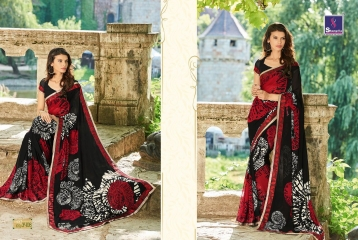 SHANGRILA BY MERCURY CATALOGUE FANCY PRINTS CASUAL WEAR SAREES (8)
