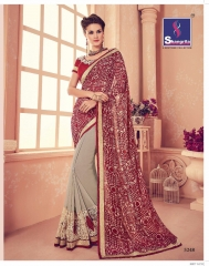 SHANGRILA CARNIVAL GEORGETTE DESIGNER SAREES WHOLESALE BRST RATE ONLINE BY GOSIYA EXPORTS SURAT INDIA (2)
