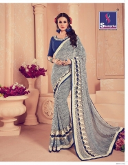 SHANGRILA CARNIVAL GEORGETTE DESIGNER SAREES WHOLESALE BRST RATE ONLINE BY GOSIYA EXPORTS SURAT INDIA (4)
