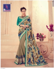 SHANGRILA CARNIVAL GEORGETTE DESIGNER SAREES WHOLESALE BRST RATE ONLINE BY GOSIYA EXPORTS SURAT INDIA (5)