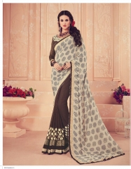 SHANGRILA CARNIVAL GEORGETTE DESIGNER SAREES WHOLESALE BRST RATE ONLINE BY GOSIYA EXPORTS SURAT INDIA (6)
