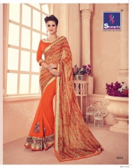 SHANGRILA CARNIVAL GEORGETTE DESIGNER SAREES WHOLESALE BRST RATE ONLINE BY GOSIYA EXPORTS SURAT INDIA (7)