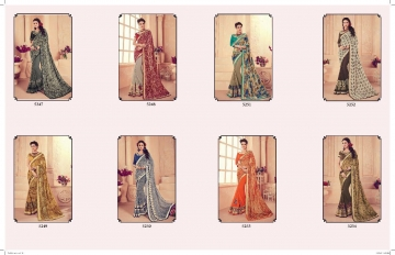 SHANGRILA CARNIVAL GEORGETTE DESIGNER SAREES WHOLESALE BRST RATE ONLINE BY GOSIYA EXPORTS SURAT INDIA (9)