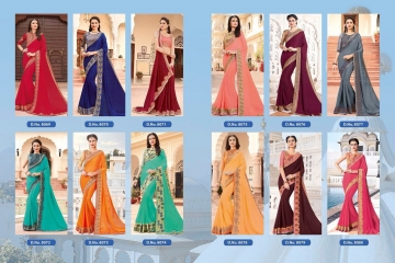 SHANGRILA EXORA COLLECTION DESIGNER PARTY WEAR SAREES COLLECTION WHOLESALE SUPPLIER BEST RATE BY GOSIYA EXPORTS SURAT (1)