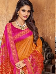 SHANGRILA FASHION BY KANJIVARAM SILK VOL 8 SAREES COLLECTION WHOLESALE BEST RATE BY GOSIYA EXPORTS SURAT