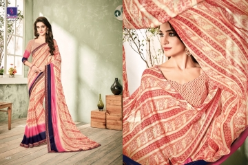 SHANGRILA INOX VOL 2 GEORGETTE PRINTS SAREES CASUAL WEAR BEST RATE BY GOSIYA EXPORTS SURAT (1)