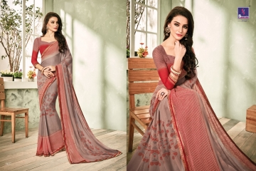 SHANGRILA INOX VOL 2 GEORGETTE PRINTS SAREES CASUAL WEAR BEST RATE BY GOSIYA EXPORTS SURAT (10)