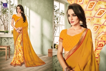 SHANGRILA INOX VOL 2 GEORGETTE PRINTS SAREES CASUAL WEAR BEST RATE BY GOSIYA EXPORTS SURAT (11)