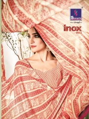 SHANGRILA INOX VOL 2 GEORGETTE PRINTS SAREES CASUAL WEAR BEST RATE BY GOSIYA EXPORTS SURAT (13)